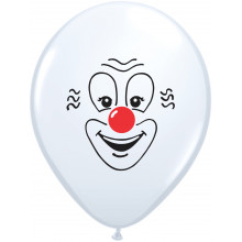 Balon Clown Face 28 cm