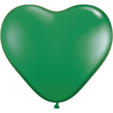 "Balloon heart 6"" - green"