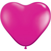 "Balloon heart 6"" - yewel..."