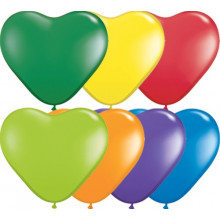 "Balloon heart 6"" - carnival..."
