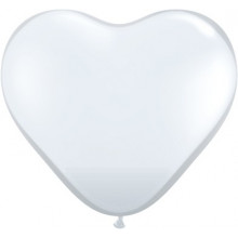 Balloon heart 3' - diamond...