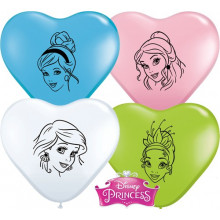 Balon srček Princess