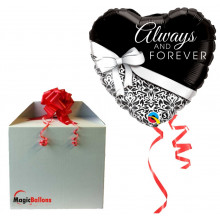 Always and Forever - folija balon v paketu