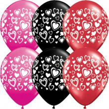 Balloon Double Hearts