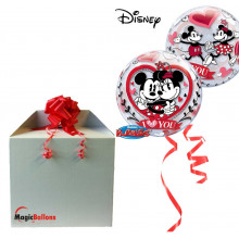 Mickey & Minnie I love you - b.balon v paketu