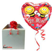 Be mine! - folija balon v paketu