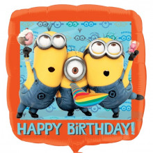 Minion Happy Birthday - folija balon