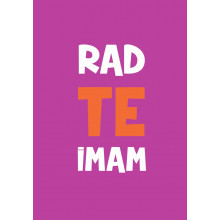 Greeting card Rad te imam