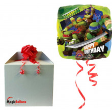 Teenage Mutant Ninja Turtles - folija balon v paketu