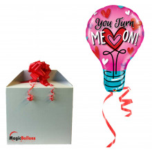 You turn me on! - folija balon v paketu