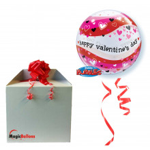 Valentine's Heart Waves - b.balon v paketu