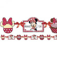 Minnie Mouse daisies napis