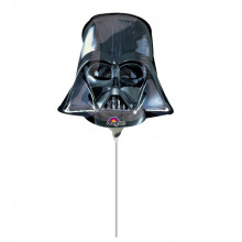 Darth Vader - foil balloon on a stick