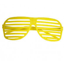 Party glasses - yellow