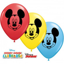 Balon Mickey Mouse face