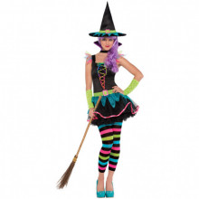 Teen Neon Witch Costume