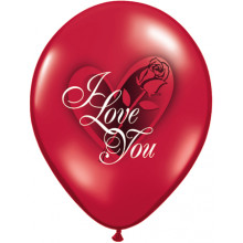 I Love You Red Rose 11""
