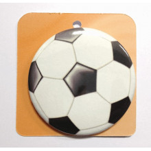 Button badge - Soccer ball