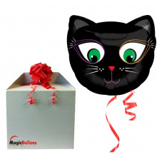 Black Cat - folija balon v paketu