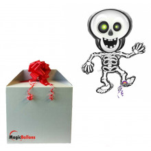 Dancing Skeleton - folija balon v paketu